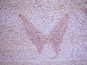 Butterfly Pictograph