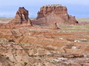 Goblin Valley bluffs