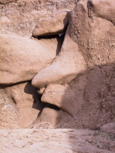 Goblin Valley face