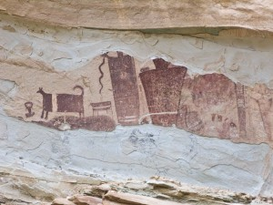 Temple Wash pictographs