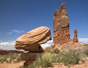 Balanced Rock and Determination Towers