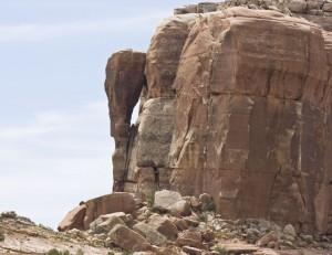 Slickenslides Arch