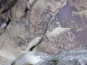 Ferron Creek petroglyphs