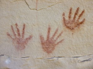 Quitchupah handprints