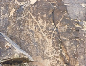 West Parowan Gap Petroglyphs