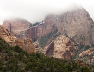 Zion's Finger Canyons