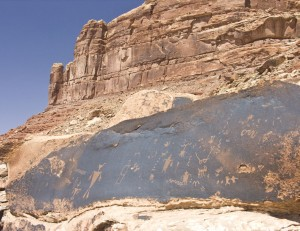 Johns Canyon Road Petroglyph