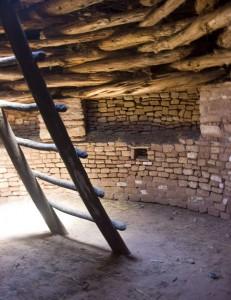 Kiva at Three Kiva Ruins