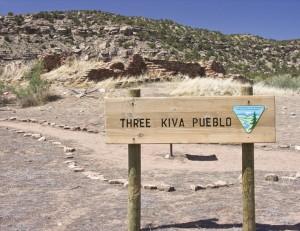 Three Kiva Ruins