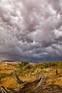 Angry Skies Over Spring Canyon