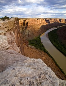 Green River at the mouth of Spring Canyon