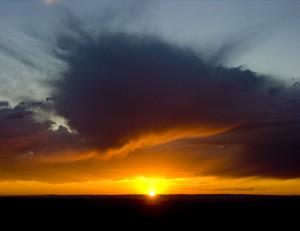 Spring Canyon Sunset