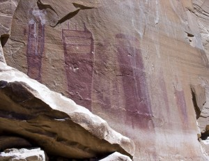 Black Dragon Canyon Pictographs
