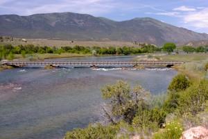 Browns Park Bridge On Green River