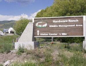 Hardware Ranch Sign