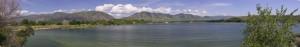 Hyrum Reservoir State Park panorama