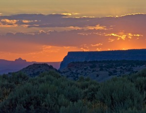 Canyonlands Overlook Sunset