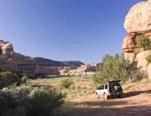Lavender Canyon campsite