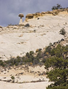 Boulder Balanced Rock