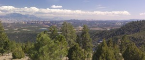 Larb Hollow Overlook panorama