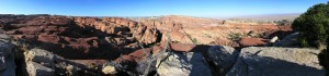 Ernies Canyon Panorama