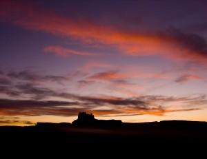 Saddle Horse Canyon Sunset