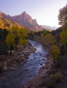 Zions NP Virgin River