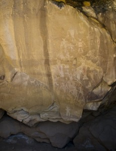 Split Mountain Petroglyphs