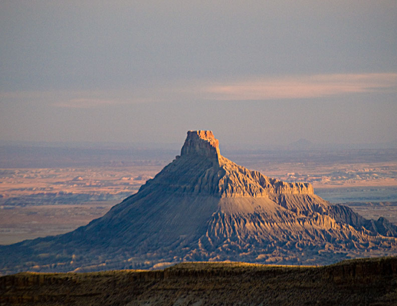 Factory Butte from the North