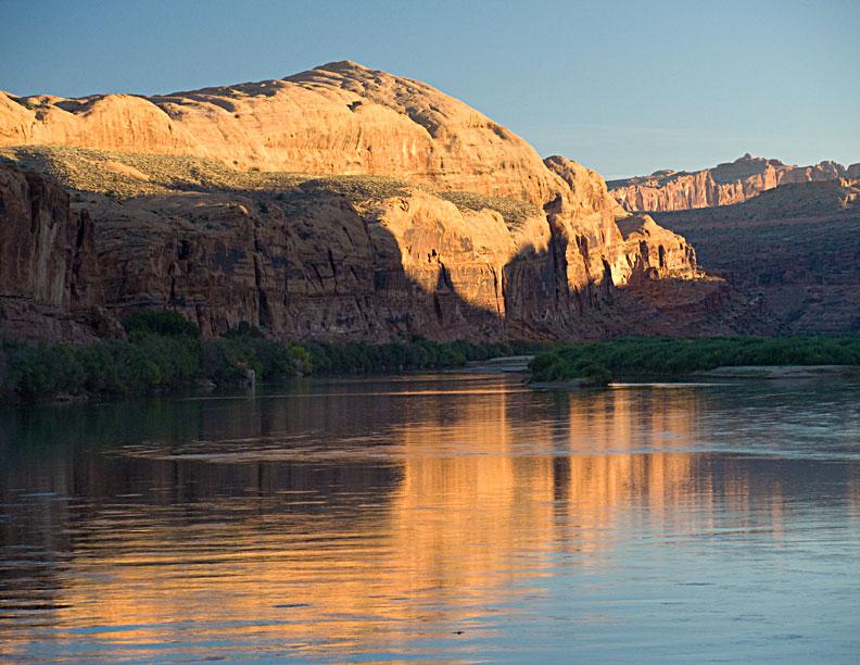 Colorado River near The Portal