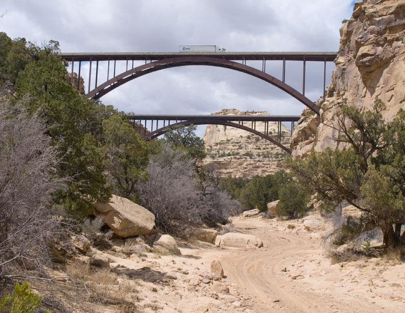 I-70 Bridge over Eagle Canyon
