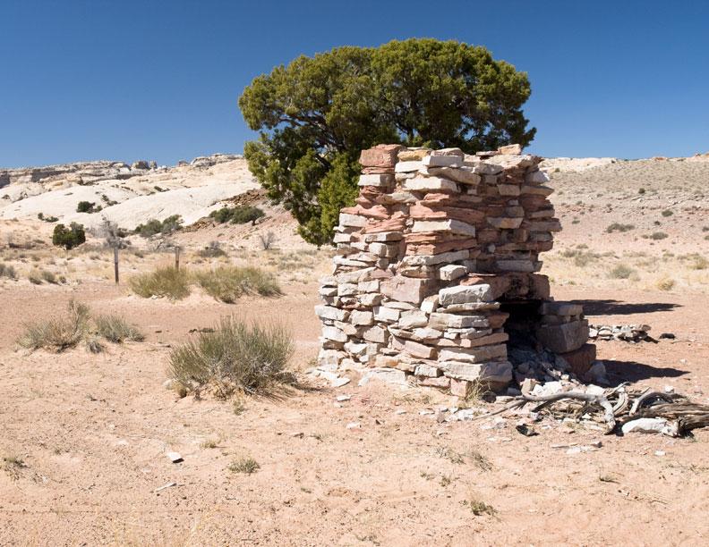 San Rafael cabin chimney #2