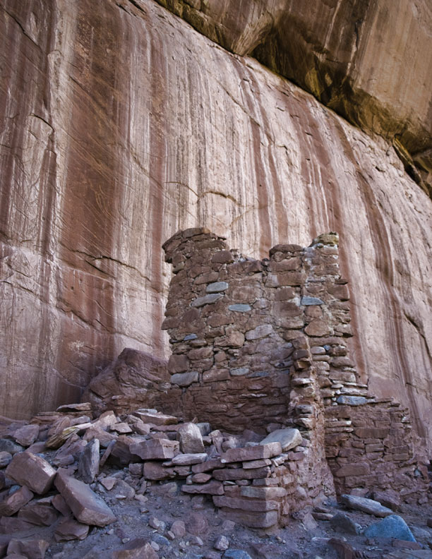 Arch Canyon Indian Ruins