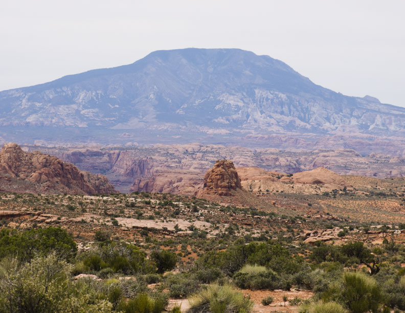 San Juan Canyon and Navajo Mountain