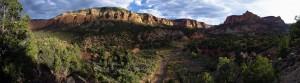 Bear Canyon Panorama