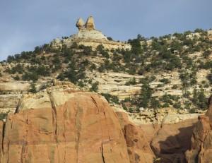 Oak Creek Canyon Balanced Rock