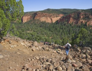 Rosebud Trail Dugway
