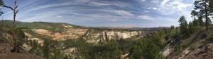 South Fork Oak Canyon panorama