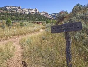 Dark Canyon Trail