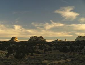 Devils Canyon Sundown
