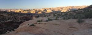 Hunter Canyon panorama