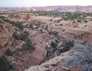 Hunter Canyon Side Canyon