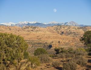 Hunters Canyon Moonrise