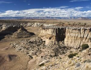 Head of Buckhorn Wash Canyon