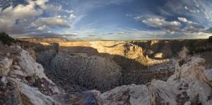 Calf Canyon panorama