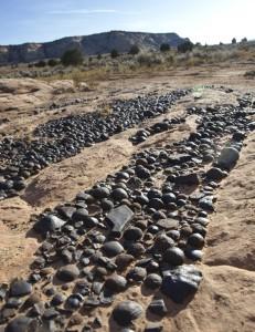 Moqui Marbles iron concretions