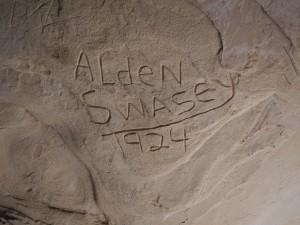 Alden Swasey Signature