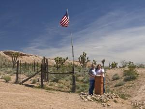 Lynn & Nancy At Utah-Nevada-Arizona Border
