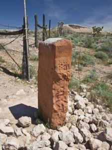 Utah-Nevada-Arizona Border Marker