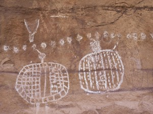 Peek-a-Boo Springs pictographs